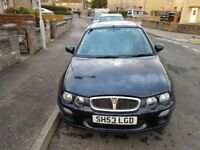 2003 Rover 25, low mileage with MOT