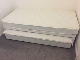Single bed with pull out. £60. Excellent condition, plus duvet and linen