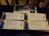 4 x Match Tickets - England vs Pakistan 5th One Day Sunday 4th Sept @ Cardiff - £200.00