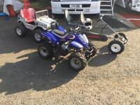 Job lot quad and go cart
