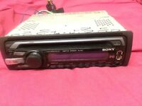 Sony cd player, mp3/wma, aux/usb