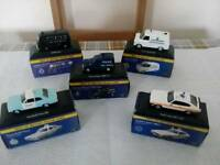 Set of 5 collectors Police vehicles boxed Atlas edition