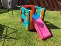 Little Tikes infant/toddler climbing cube with slide