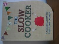 NEW THE SLO COOKER BOOK - (Kirkby in Ashfield)