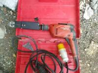 Hilti power feed screwdriver110v