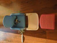 Lindam Folding Booster Chair & Foot Stool