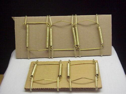 """Set of 5 Butter Pat Plate Hangers 2""""-3"""""""