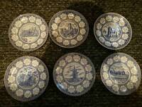 Ringtons ltd collective plates 1984 to1989