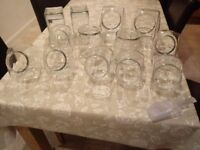 Glass Sweetie Jar Collection - Perfect Condition!
