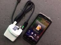 HTC SENSATION SIMFREE COMES WITH CHARGER AND THREE MONTHS WARRANTY