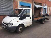 Ford transit recovery LWB