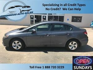 2015 Honda Civic AC,CRUISE,HANDS FREE,HEATED SEATS