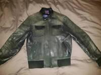 Men's Ted Baker Leather Jacket 4 (Large)