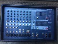 Yamaha 500w 8 channel PA amplifier