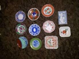 miniature chinese plates