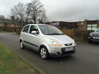 Chevrolet Matiz 1.0 Se 5Door, full year mot, brand new clutch with 12 month warranty