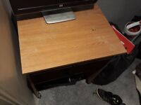 Computer and desk
