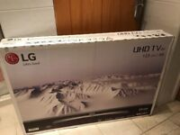 BRAND NEW SEALED LG 49 INCH 4K ULTRA HD SMART LED HDR TV. LATEST MODEL.£400 NO OFFERS.CAN DELIVER