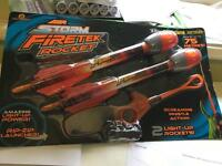 Air Storm Firetek Rocket kids toy