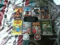 Sony PSP Slim and Lite Games / Films bundle Sega PS4