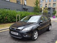 FORD FOCUS ZETEC 1.6 TDCI DIESEL MANUAL 2009 (12 MONTHS MOT AND FSH)