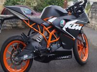 KTM RC125 - Absolutely flawless condition. One owner. Mileage 7.7k. Full history. Make an offer!