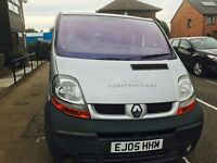 2005 Renault traffic tax and 1 year mot