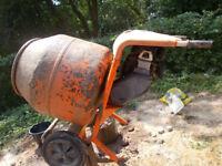 elle Honda Petrol Mini 150 Mixer Concrete Cement Mixer & Stand