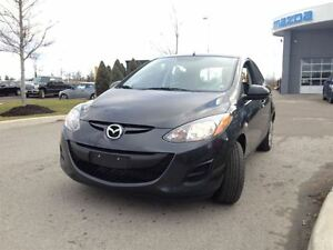 2014 Mazda MAZDA2 GX HATCHBACK w/ AIR - FUEL SAVER