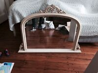 French decorative mirror shabby chic