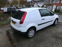 Ford Fiesta van , 148300, full years MOT, good van , very cheap to run