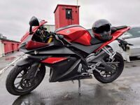 Yamaha yzf r-125 Red ABS