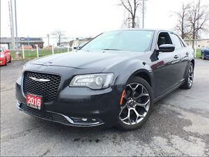 2016 Chrysler 300 S**LEATHER**NAVIGATION**SUNROOF**8.4 TOUCHSCRE