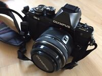Olympus OM-D E-M10 Mark II Compact System Camera with 14-42mm Lens (Black)