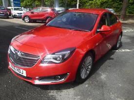 Vauxhall Insignia DESIGN CDTI ECOFLEX S/S (red) 2016-03-16