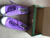 Size 7 purple trainers