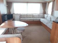 3 Bedroon 2013 model insulated double glazed and centrally heated caravan available for rent
