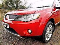 2008 mitubishi outlander 2.0 diesel 7 seater leather f\s\h\ jeep is like new no faults