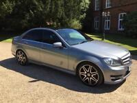 MERCEDES C250 CDI AMG SPORT PLUS P/X WELCOME WITH ANY AUDI BMW VW GOLF C220 CDI