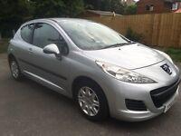 2010 (60) Peugeot 207 1.4 S 69k FSH Silver, HPI clear, 3 door, great condtion, long MOT, £1999