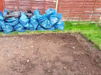 Free soil in bags for collectors