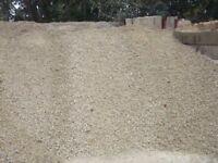 20mm Crushed Clean Limestone £35+VAT *1 Tonne Bulk Bag*