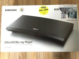 Samsung Ultra HD BluRay Player - Brand New in Sealed Box RRP £200