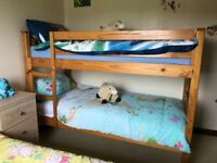 Bunk beds with mattresses - excellent condition, hardly used.