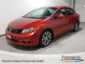 2012 Honda Civic Si - Low KMs   6-Speed   Navigation   New tires