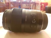 Sigma lens 35mm 1.4 F (Canon mount)