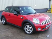 MINI Hatch 1.6 Cooper 3dr£2,995 p/x welcome 6 MONTHS NATIONWIDE WARRANTY