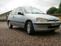 2002 Peugeot 106 1.1 petrol. 56.000 miles Driving perfectly