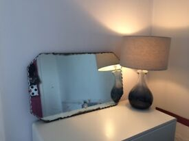 Vintage patterned mirror