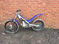 Sherco 2005 250cc trials bike